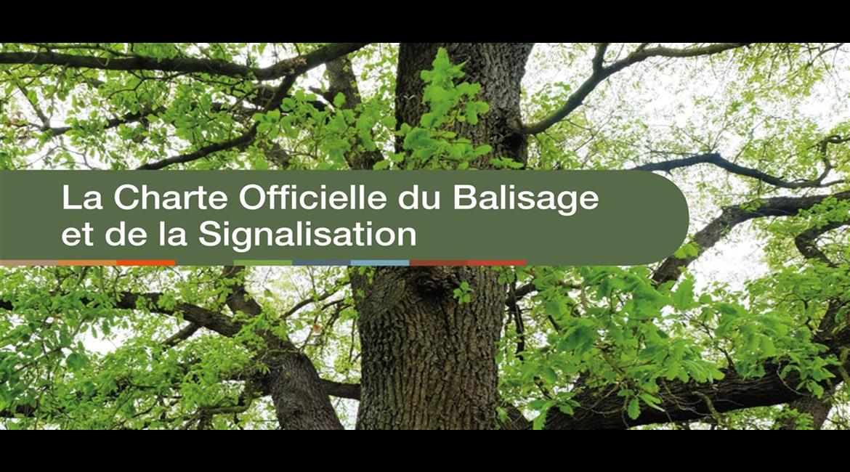 La charte officielle du balisage et de la signalisation fédérale