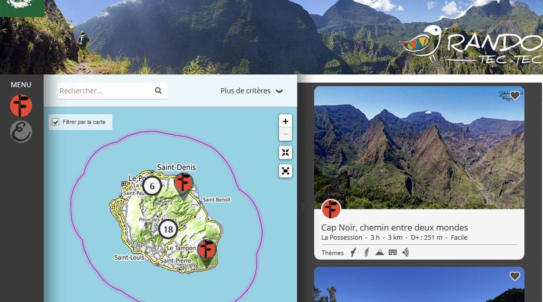 WEB : La randonnée à La Réunion
