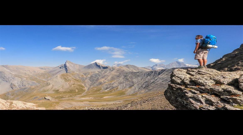 ITINÉRANCE  : Le tour du Vieux Chaillol , joyau des Hautes Alpes