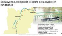 MAYENNE : Remonter le cours de la rivière en randonnée