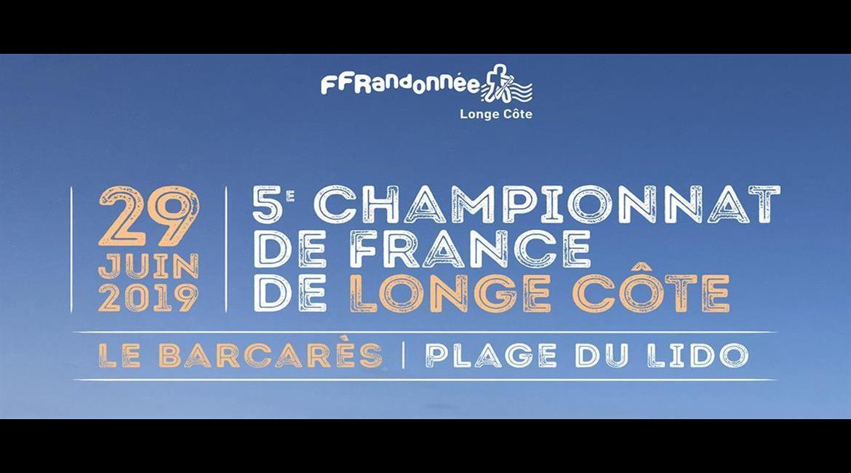 Rejoignez-nous au 5ème championnat de France de Longe Côte en 2019 ! !