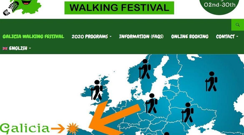 Galicia walking festival – 2 – 30 mai 2020 - reporté en 2021